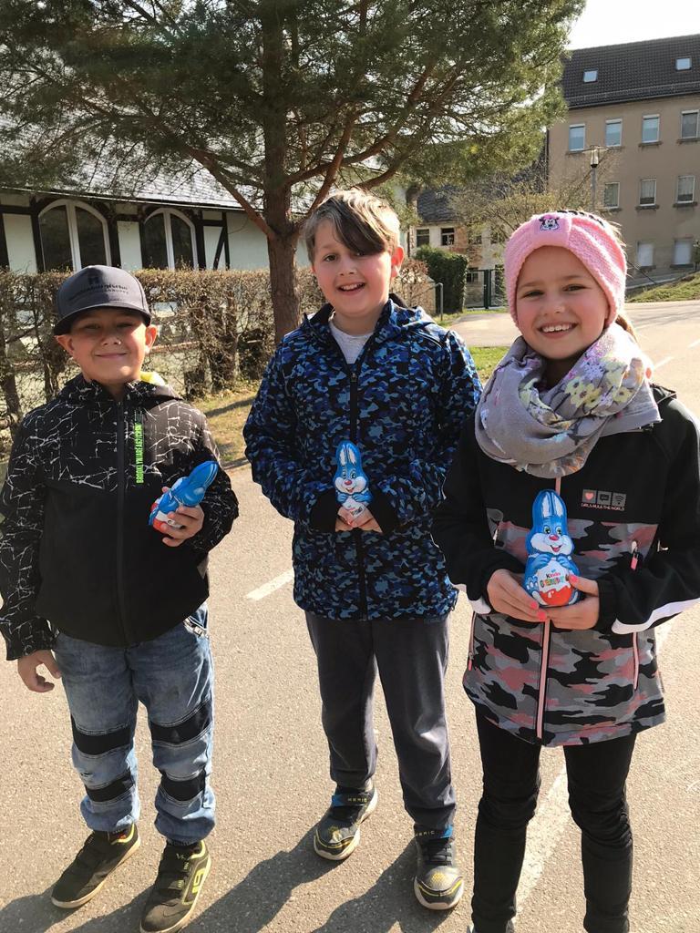 Osterüberraschung an der Grundschule