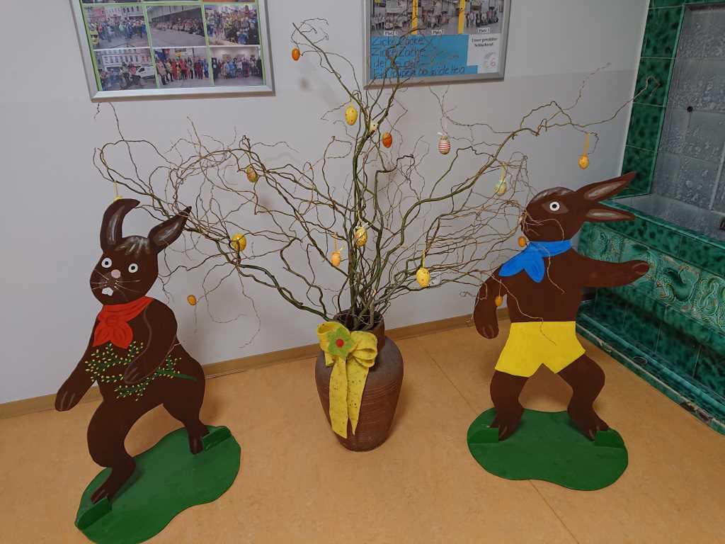 Osterschmuck für die Grundschule