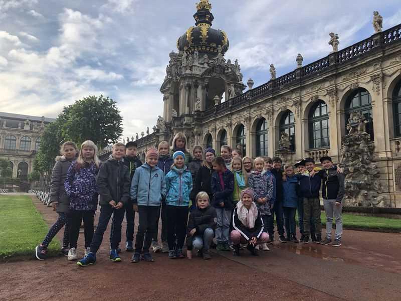 Stadtrallye durch Dresden
