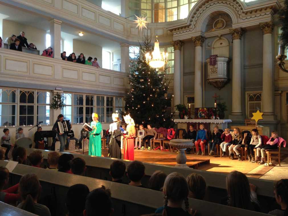 Weihnachtstag an der Grundschule Waldheim